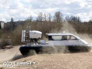 Test Drive Hovercraft Christy 5123 FC