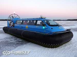 Test Drive Hovercraft Christy 9204 FC