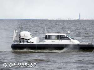 Test Drive Hovercraft Christy 9204 FC Fishing Edition